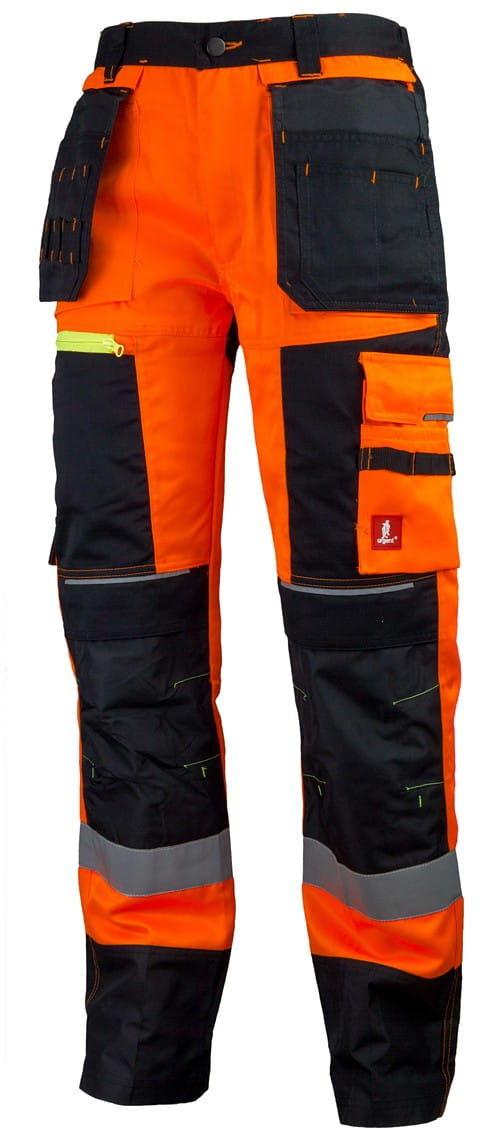 Spodnie robocze URG-714 ostrzegawcze