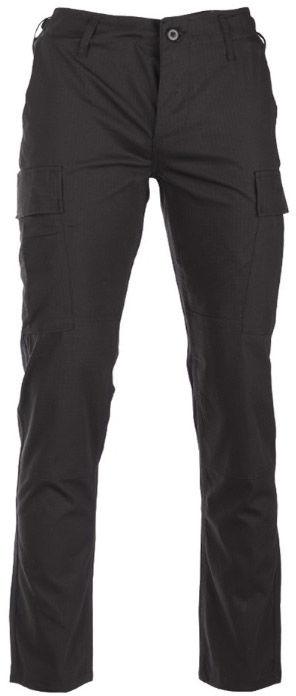 Spodnie wojskowe Mil-Tec Teesar RipStop BDU Slim Fit Black (11853102)