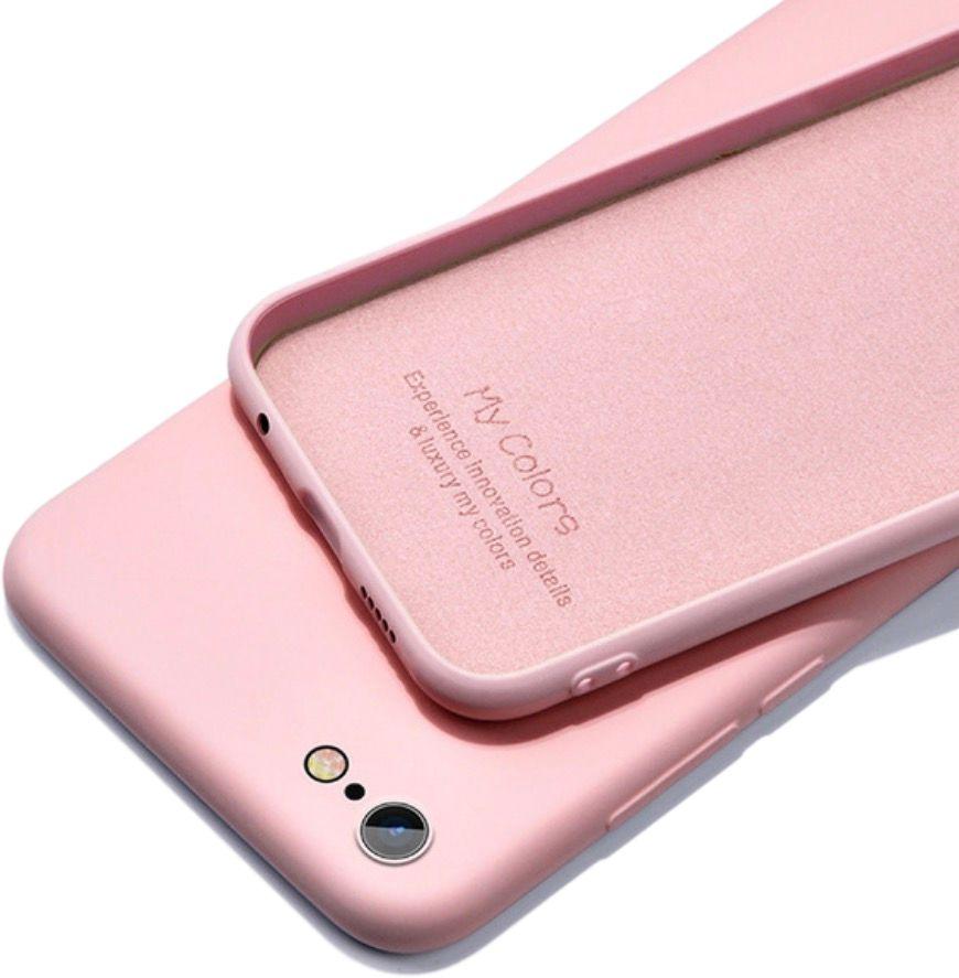 Etui Fiber Silicone Apple iPhone SE 2020