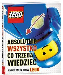 Lego Absolutnie wszystko co trzeba wiedzieć ZAKŁADKA DO KSIĄŻEK GRATIS DO KAŻDEGO ZAMÓWIENIA