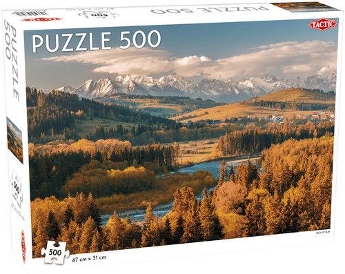 Puzzle Góry 500 ZAKŁADKA DO KSIĄŻEK GRATIS DO KAŻDEGO ZAMÓWIENIA