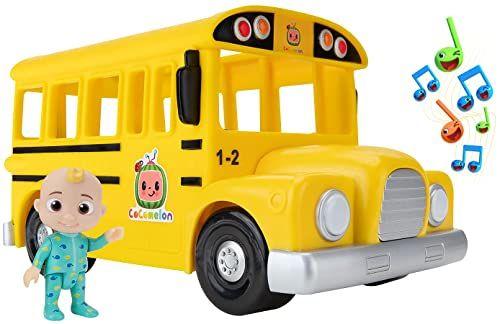 Cocomelon WT80113 muzyczny żółty autobus szkolny