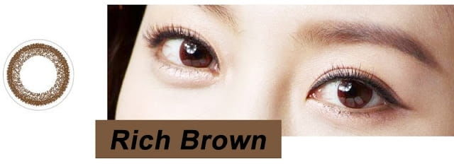 FreshLook Illuminate Rich Brown, 10 szt.