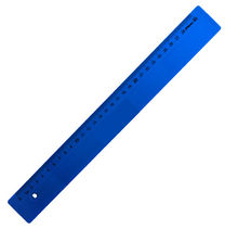 Leniar Linijka kolorowa 30cm niebieski plastil