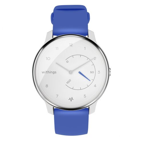 Withings Move ECG - smartwatch z funkcją EKG (niebieski)