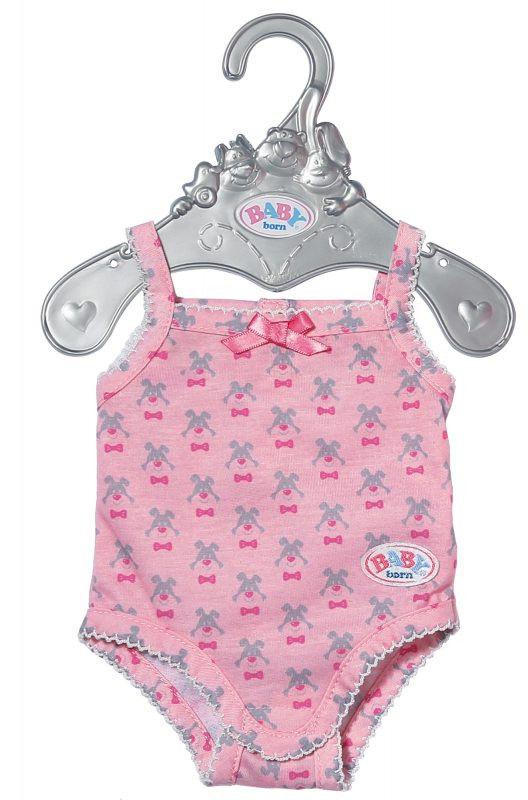 BABY Born - Różowe body dla lalki na wieszaczku 827536