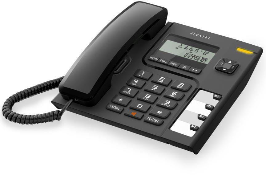 Alcatel T56 telefon przewodowy z wyświeltaczem i CLIP