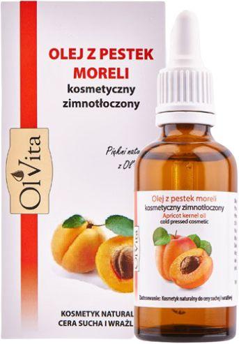 Olej z Pestek Moreli, 100% Naturalny, Olvita, 50ml
