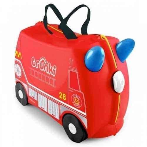 Jeżdżąca walizeczka Trunki Strażak Frank