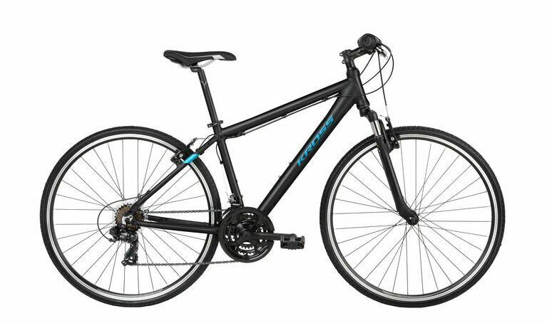 """Rower Kross EVADO 2.0 czarno-niebieski 28""""..."""
