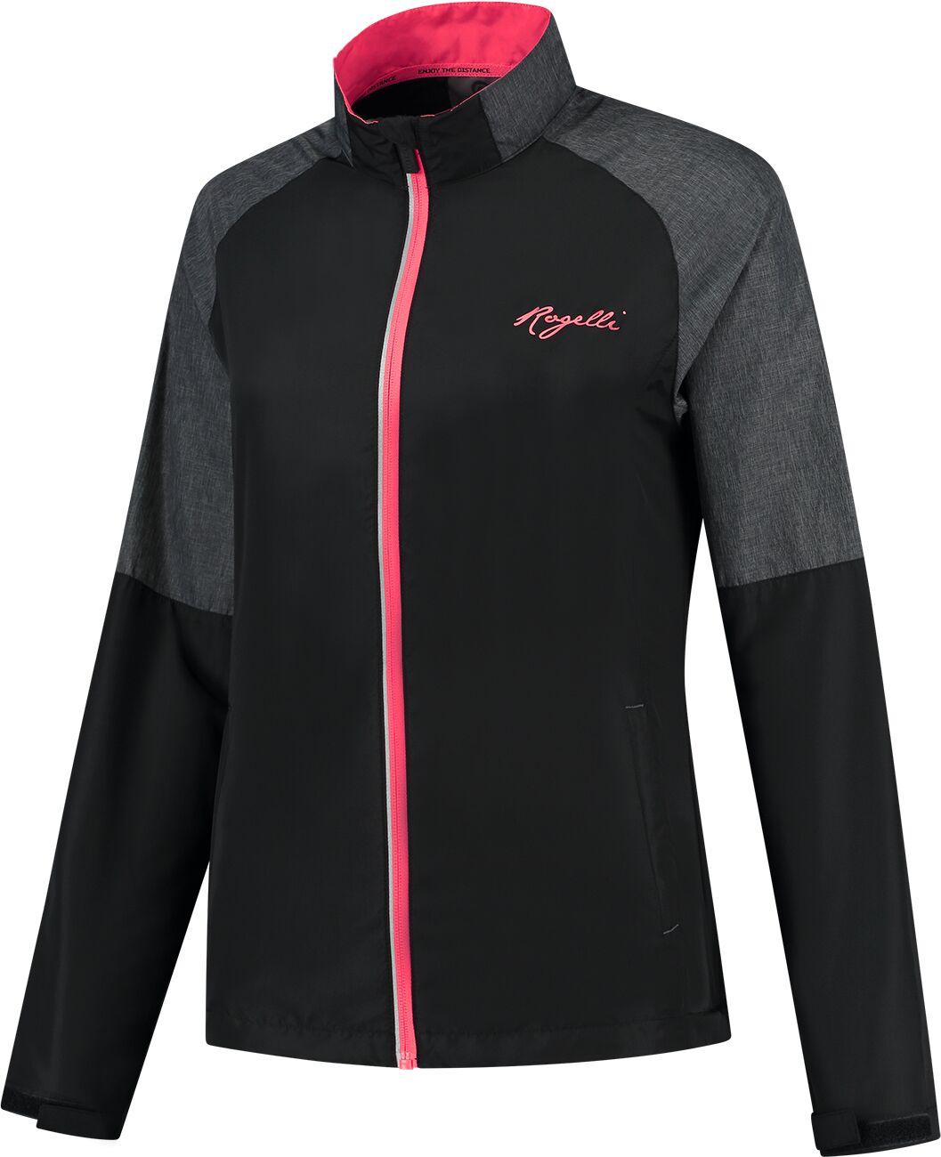 ROGELLI damska kurtka do biegania ENJOY black ROG351112 Rozmiar: L,ROG351112.XS