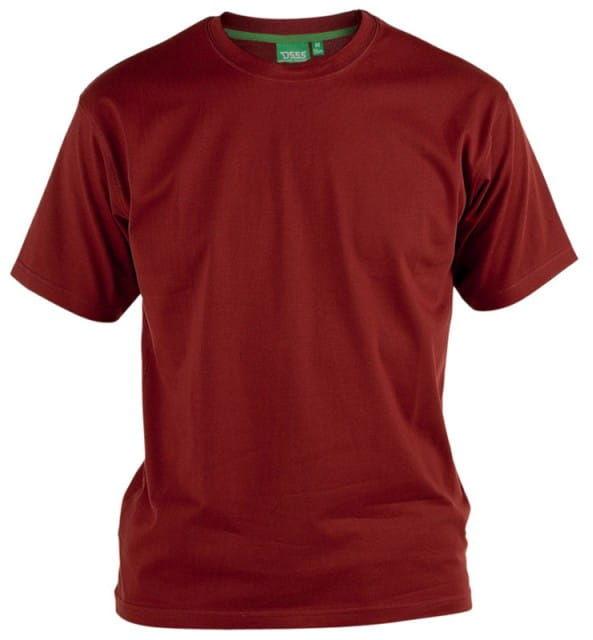 FLYERS-D555 Duży T-shirt Czerwony
