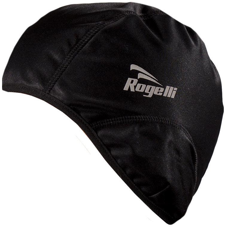 ROGELLI LAZIO - softshellowa czapeczka pod kask, kolor: Czarny Rozmiar: S-M,rogelli-lazio-czarny