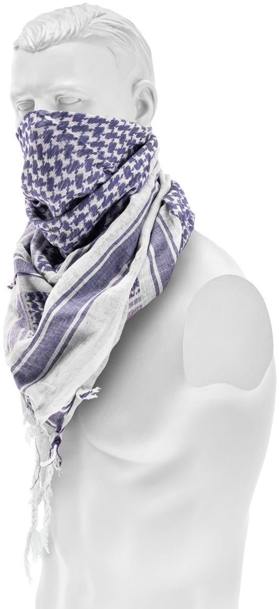 Arafatka chusta ochronna Brandit Blue/White (7009-153)