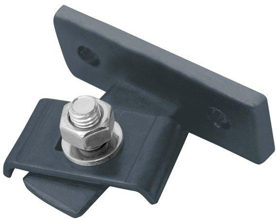 Łącznik do paneli Polargos ze śrubą antracyt