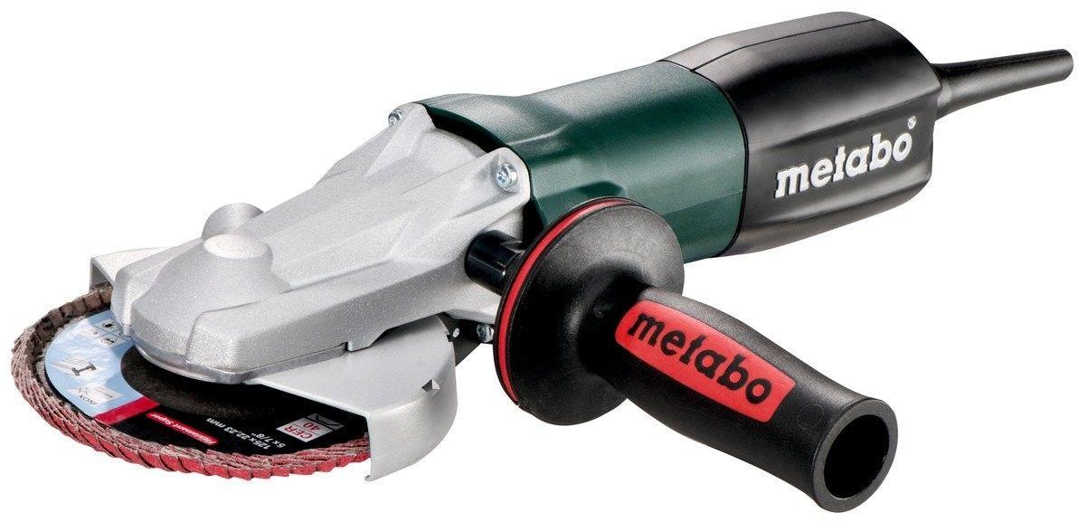 Metabo Elektroniczna szlifierka kątowa z płaską głowicą WEF 9-125 Quick, 910 W