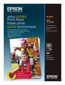 Papier EPSON Value Glossy Photo Paper A4 20 ark 183.g/m2