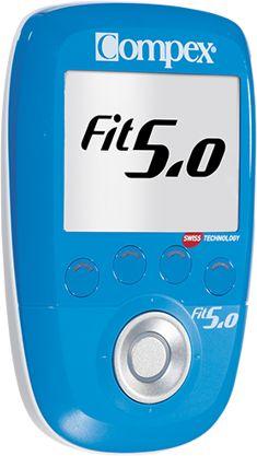 Elektrostymulator compex fit 5.0 + zestaw do rehabilitacji