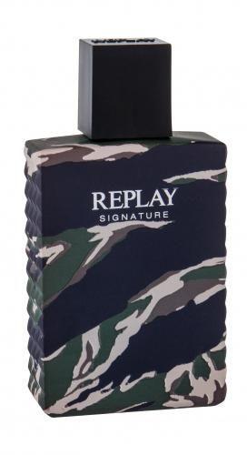 Replay Signature woda toaletowa 100 ml dla mężczyzn