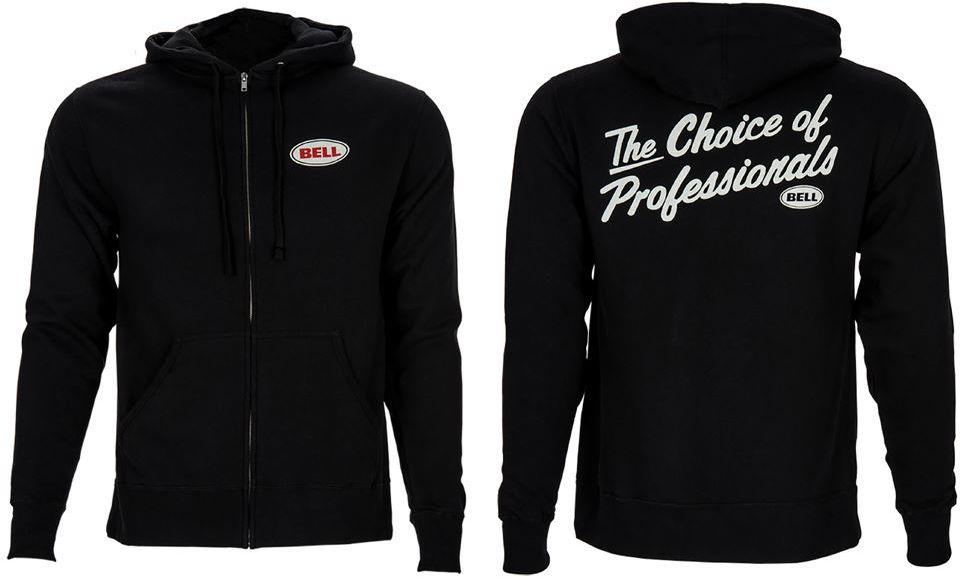 BELL bluza z kapturem ZIP HOODIE CHOICE OF PROS black BEL-7022055 Rozmiar: M,BEL-7022055