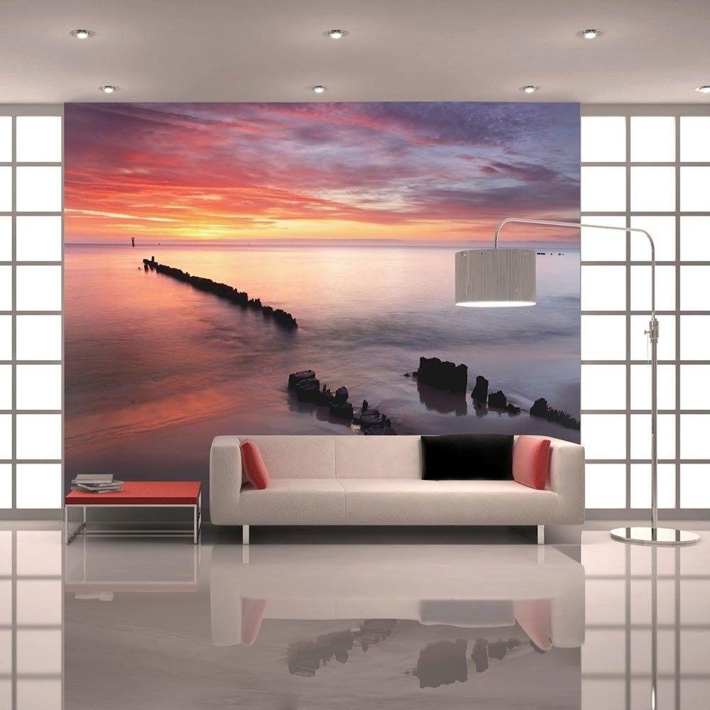 Fototapeta - wschód słońca nad bałtykiem