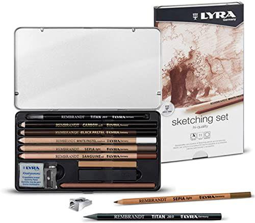 Lyra Rembrandt zestaw do szkicowania, ciemny, 2B