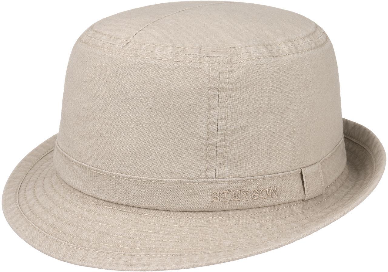 Gander Cloth Trilby by Stetson, beżowy, S (54-55 cm)