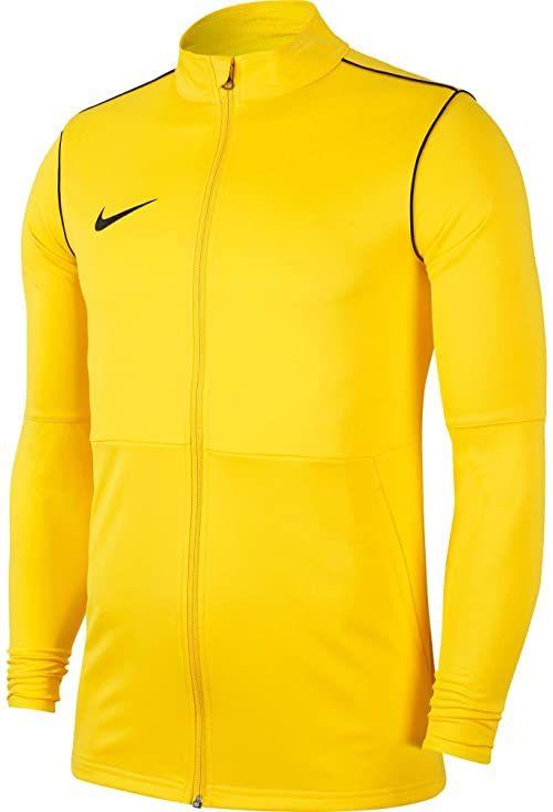 Nike Unisex dziecięca kurtka dresowa Park20 Tour Żółty/Czarny (Czarny) XS