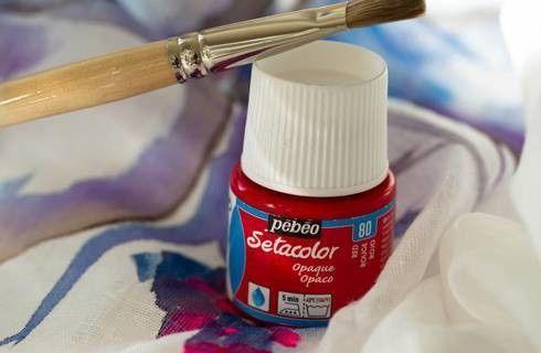 Farby do Tkanin Pebeo Setacolor Opaque 45 ml (Kryjące)