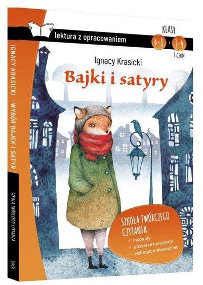 Bajki i satyry z opracowaniem BR SBM - Ignacy Krasicki