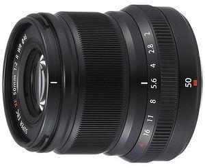 Obiektyw Fujinon XF 50 mm f/2 R srebrny + MARUMI UV Fit-Slim MC 46mm GRATIS!