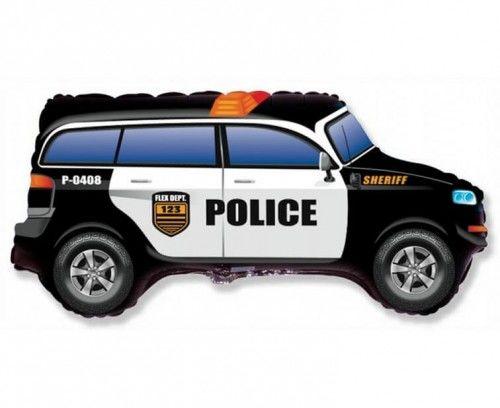 """Balon foliowy Wóz Policyjny 26"""""""
