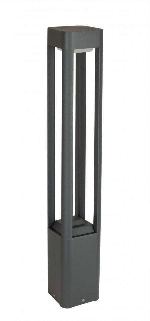 Lampa ogrodowa stojąca 80cm Fan kwadrat antracyt IP54 FKW-800 - Su-ma Do -17% rabatu w koszyku i darmowa dostawa od 299zł !