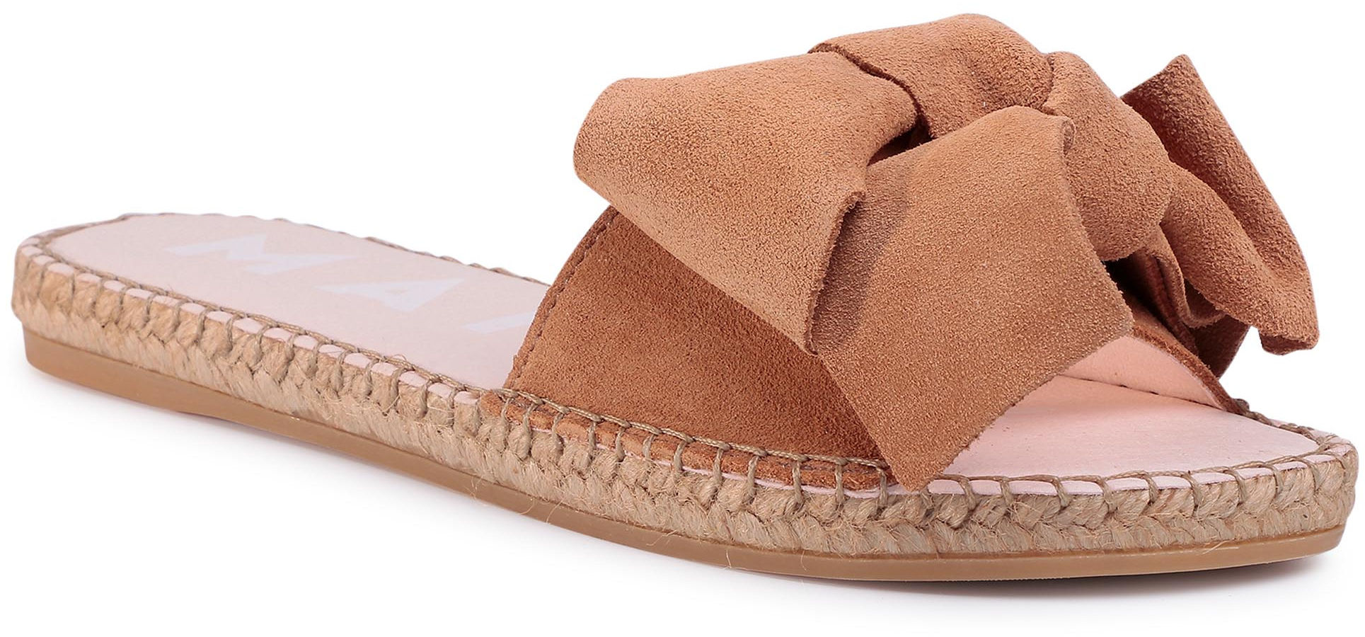 Espadryle MANEBI - Sandals With Bow W 1.1 J0 Cuero
