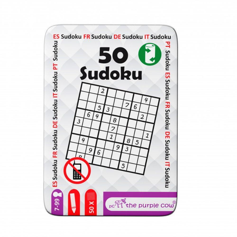 Podróżne łamigłówki The Purple Cow - 50 Sudoku