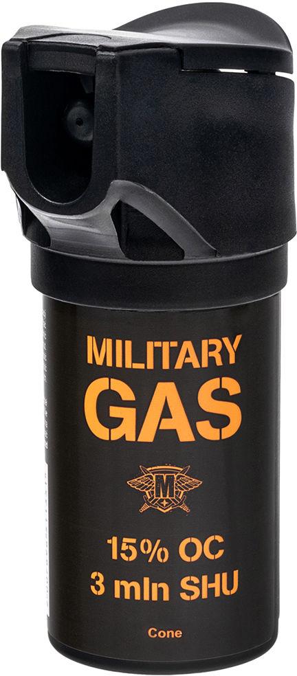 Gaz pieprzowy Military Gas 50 ml - stożek (047701)