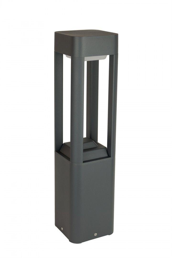 Lampa ogrodowa stojąca Fan kwadrat 50cm IP54 antracyt FKW-500 - Su-ma Do -17% rabatu w koszyku i darmowa dostawa od 299zł !