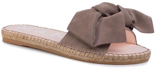 Manebi Espadryle Sandals With Bow W 1.9 J0 Brązowy