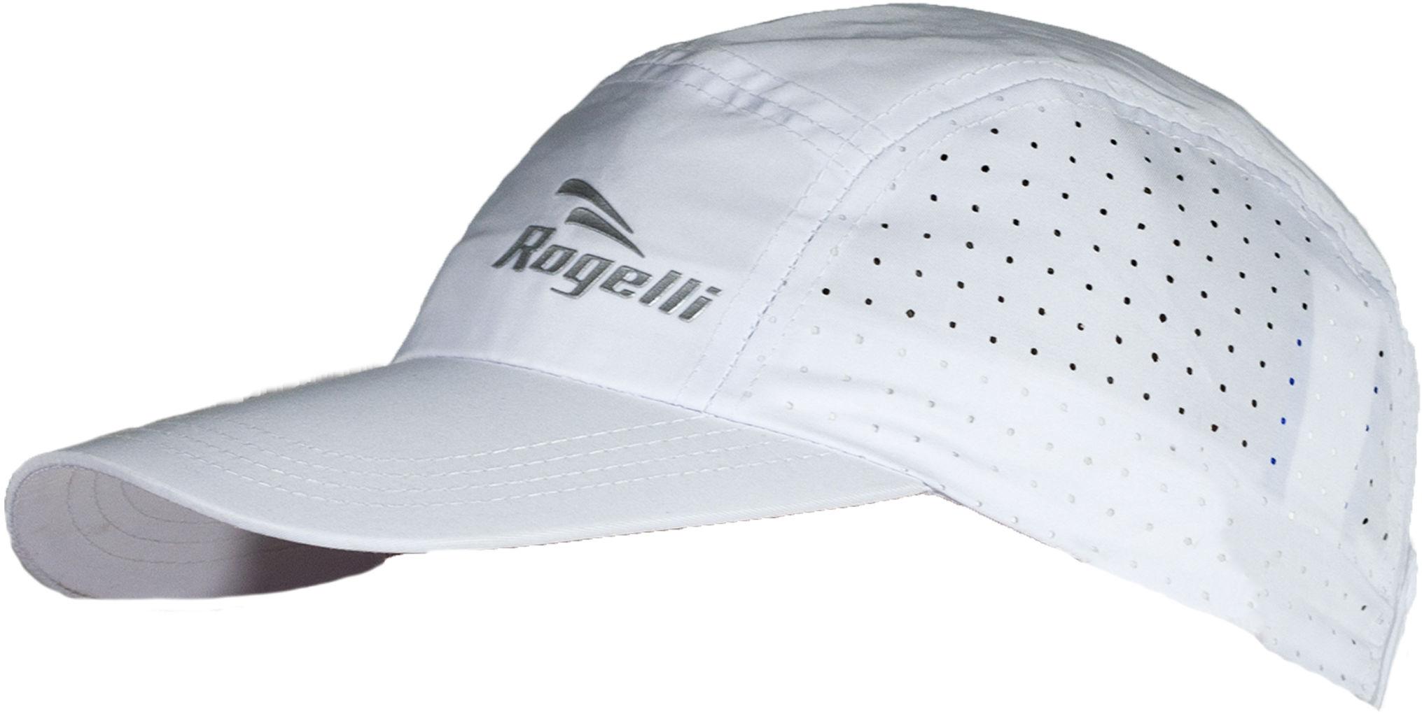 ROGELLI SS18 RUN 890.019 LIBERTY 2.0 - czapeczka z daszkiem unisex biała,8717849015523