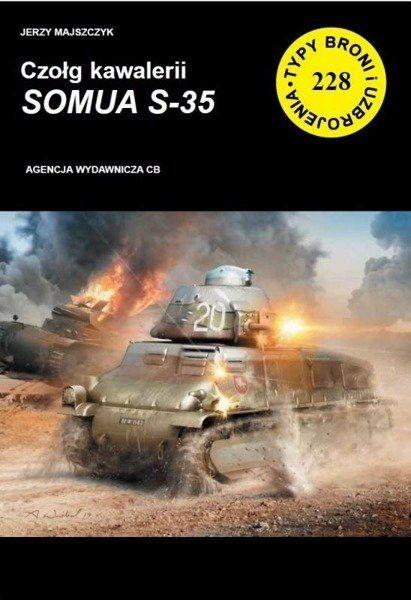 Czołg kawalerii SOMUA S-35 - Jerzy Majszczyk