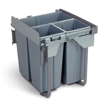 Wysuwany segregator odpadów 60, 34 L + 2 x 17 L GTV