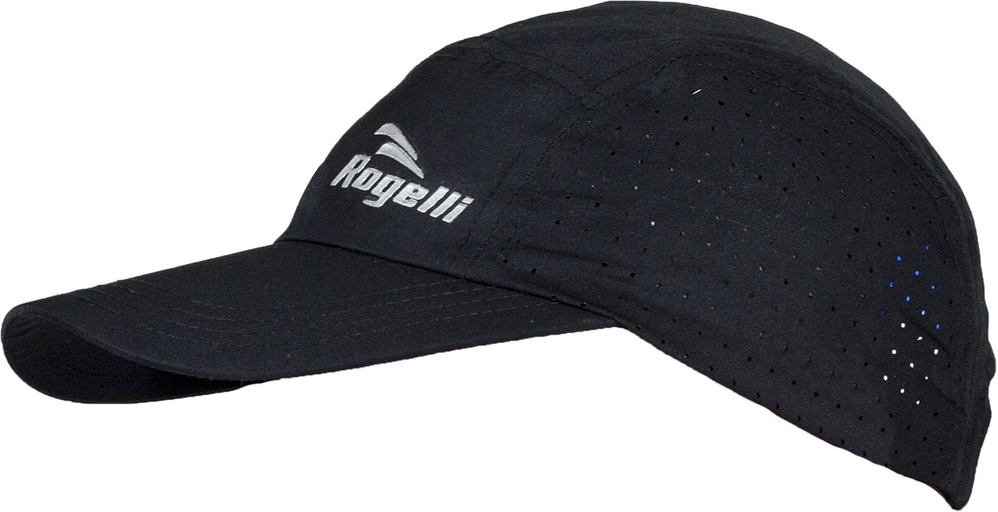 ROGELLI SS18 RUN 890.017 LIBERTY 2.0 - czapeczka z daszkiem unisex czarna,8717849015509