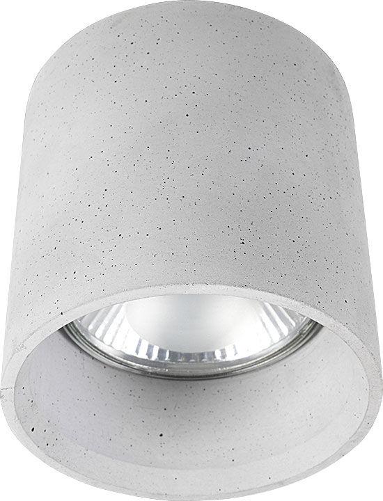 Plafon Shy 9393 Nowodvorski Lighting betonowa oprawa sufitowa w kształcie tuby