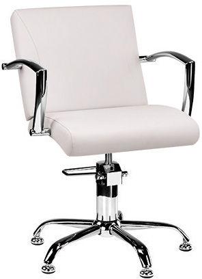 Ayala Carmen 01 fotel fryzjerski na pompie hydraulicznej z możliwością wyboru podstawy
