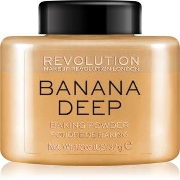 Makeup Revolution Baking Powder puder sypki odcień Banana Deep 32 g