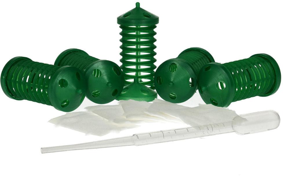 Dyspenser zapachu wabika do żywołapki 5 sztuk + pipeta GRATIS.