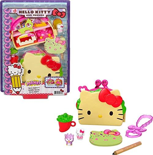 Mattel - Hello Kitty and Friends Minis Taco Party Compact (Sanrio)