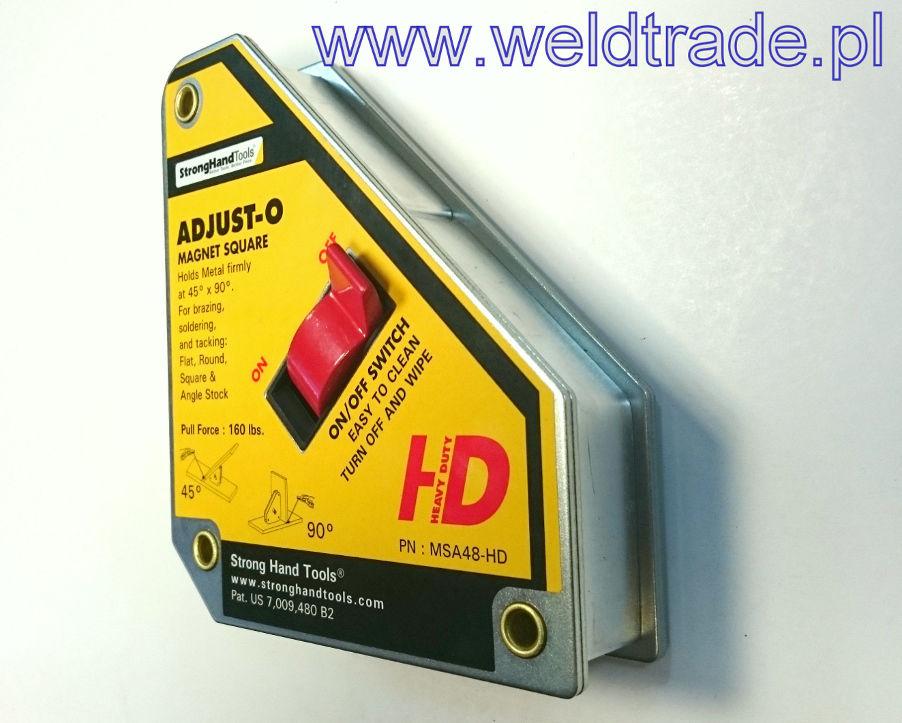 Kątownik magnetyczny MSA48-HD