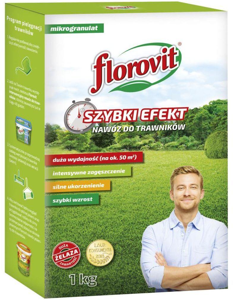 Nawóz do trawnika 1 kg SZYBKI EFEKT FLOROVIT