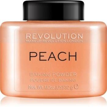 Makeup Revolution Baking Powder puder sypki odcień Peach 32 g